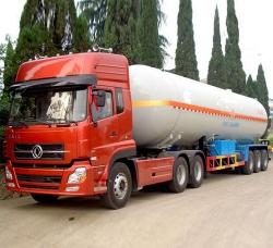 液态气体运输车